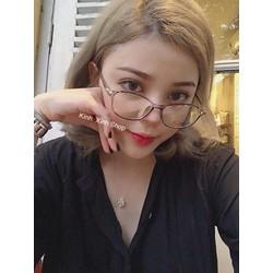 Kính Mắt bầu - Gọng nhựa siêu dẻo Hàn Quốc