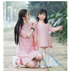 Đầm Đôi Fom Suông Cho Mẹ Và bé HGS 500