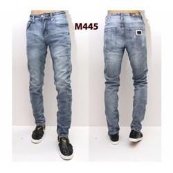 Quần Jeans Nam rách nhẹ