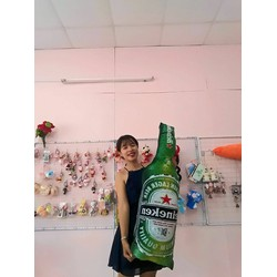 Gối ôm chai bia Heineken size 1m2