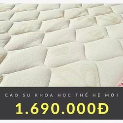 Nệm Cao Su Khoa Học 180x200x10cm