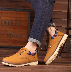 Giày Nam Đẹp Kiểu Dáng Trẻ Trung Độc Đáo - GL30.