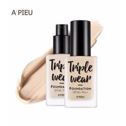 Kem Nền APieu Triple Wear Foundation 35g
