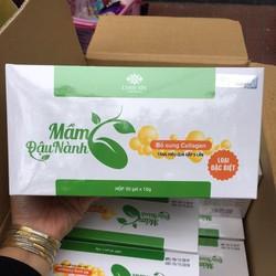 Mầm đậu nành Linh spa mẫu mới bổ sung collagen