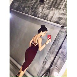 Đầm body Đan dây Sau lưng form đẹp