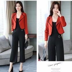 jumpsuit thời trang mới nhất_jumsuit kèm áo khoác