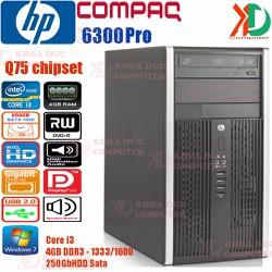 Máy tính đồng bộ HP Compaq 6300Pro Core i3 4GB Ram 250GB HDD