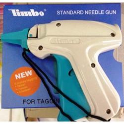 Súng gắn nhãn mác quần áo Timbo