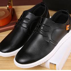 Giày da nam phong cách hàn quốc có đế cao su cực bền