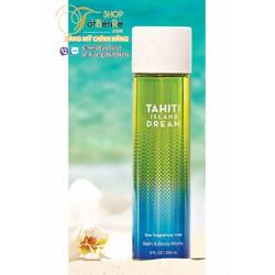 Xịt toàn thân Tahiti Island Dream 236ml