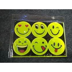 Tấm dán phản quang mặt cười 6 hình to