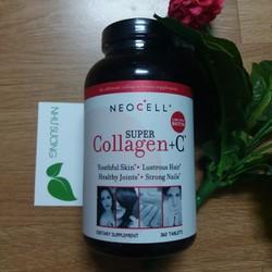 Viên uống  Super Collagen C Type 1 - 3 của Mỹ 360 viên