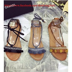 Sandal tua cột dây   Sandal dây buộc