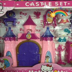 Lâu đài Caste set Hello Kitty KT316