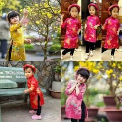 Áo dài gấm Thái Tuấn