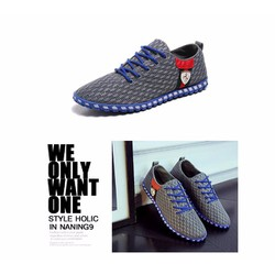 giày nam thời trang, giày thể thao Kaka Hàn quốc mới