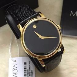 Đồng hồ nam dây da giá rẻ MVD kính chống xước chống nước