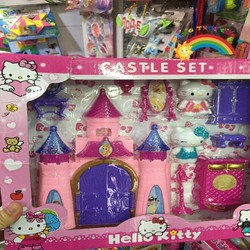 Lâu đài Caste set Hello Kitty KTD316