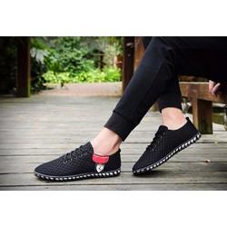 Giày nam thời trang, giày lười Male models thiết kế Hàn quốc mới nhất