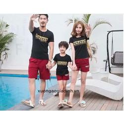 Áo thun gia đình siêu rẻ đẹp 95k 1 áo
