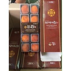 Hồng dẻo Hàn Quốc Hộp 10 Trái 450g