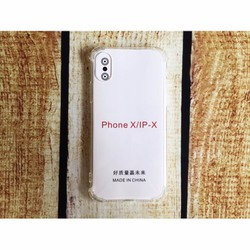 Ốp lưng iPhone X dẻo Trong suốt Chống sốc