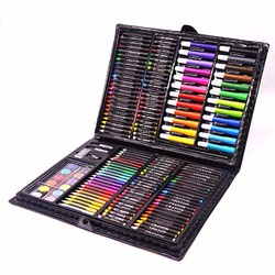 Hộp bút màu 168 chi tiết cho bé thỏa sức sáng tạo