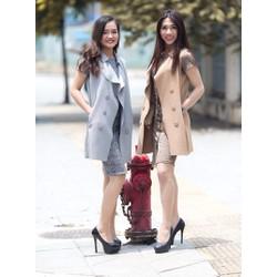 Áo khoác gile nữ