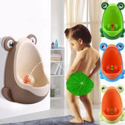 Bô ếch tập tiểu cho bé trai