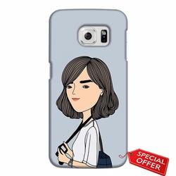 Ốp lưng nhựa dẻo Samsung Galaxy S6 Edge_Hot Girl Hiện Đại