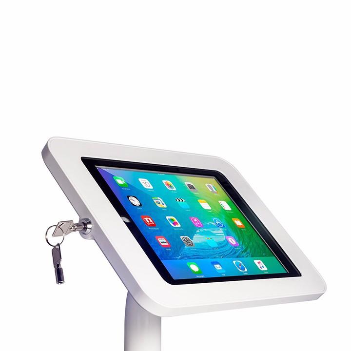 Giá đỡ chống trộm trưng bày máy tính bảng, tablet, ipap trên sàn 3