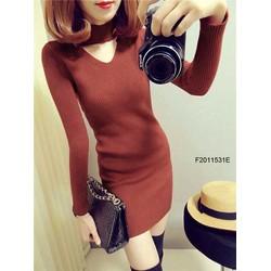 Đầm len body hàng nhập! MS: S201130 Giá sỉ: 135K