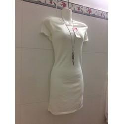 Đầm body bẹt vai xinh xắn