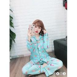 bộ pijama hình đẹp yêu quá
