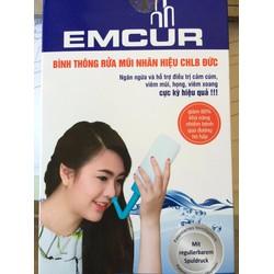 Bình rửa mũi EMCUR - dụng cụ vệ sinh mũi