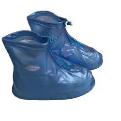 Giày đi mưa Over-Shoes màu xanh