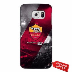 Ốp lưng nhựa dẻo Samsung Galaxy S6 Edge_CLB AS Roma Hiện Đại