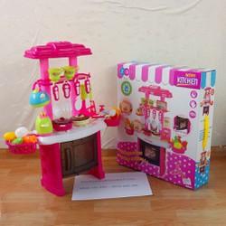 bộ đồ chơi nấu ăn nhà bếp cho bé gái ZD588-1