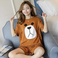 Đồ ngủ mặc nhà hình gấu nâu dễ thương
