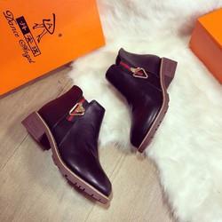 Giày Boot cổ ngắn thời trang