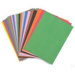 sỉ 100 tờ giấy gấp origami đủ màu khổ A4