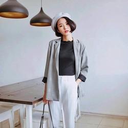 áo vest thiết kế phong cách Hàn Quốc