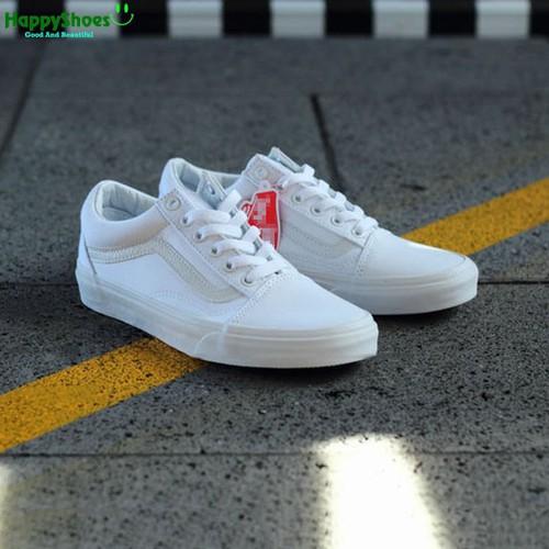 [FULLBOX] Giày Old Skool trắng hàng SF xuất khẩu
