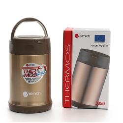 Bình giữ nóng thức ăn elmich inox 304 500ml EL0631
