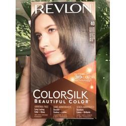 thuốc nhuộm tóc colorsik mỹ màu số 40 nâu ánh kim