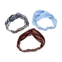 Combo 3 khăn turban phong cách hàn quốc nhiều họa tiết M19