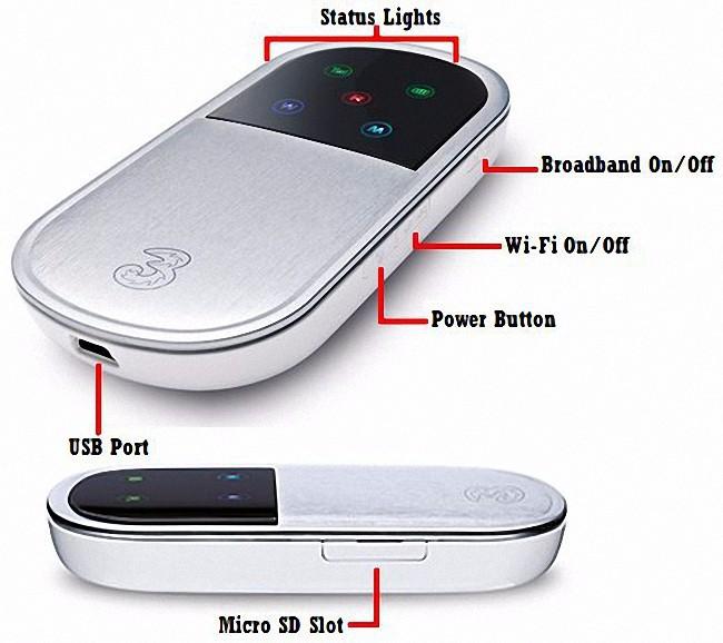 Bộ Phát Wifi 3G Router Wifi Huawei E5832 1
