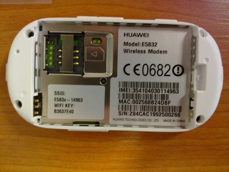 Bộ Phát Wifi 3G Router Wifi Huawei E5832 2