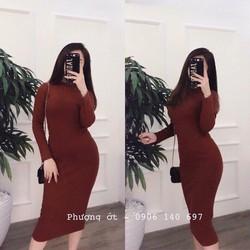 Đầm body dài tay siêu hot