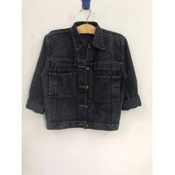 Áo khoác jean nữ siêu xinh form chuẩn 172